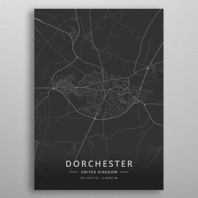 Dorchester, United Kingdom metal poster