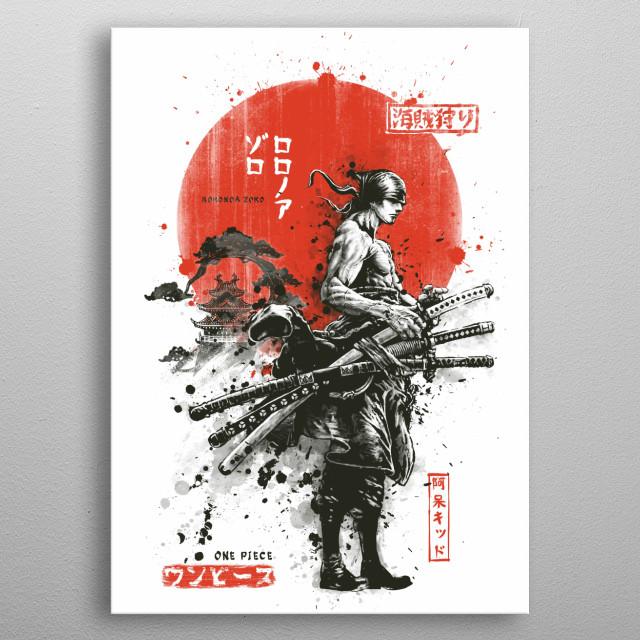 Zoro Samurai Wano Kuni Arc Anime Amp Manga Poster Print