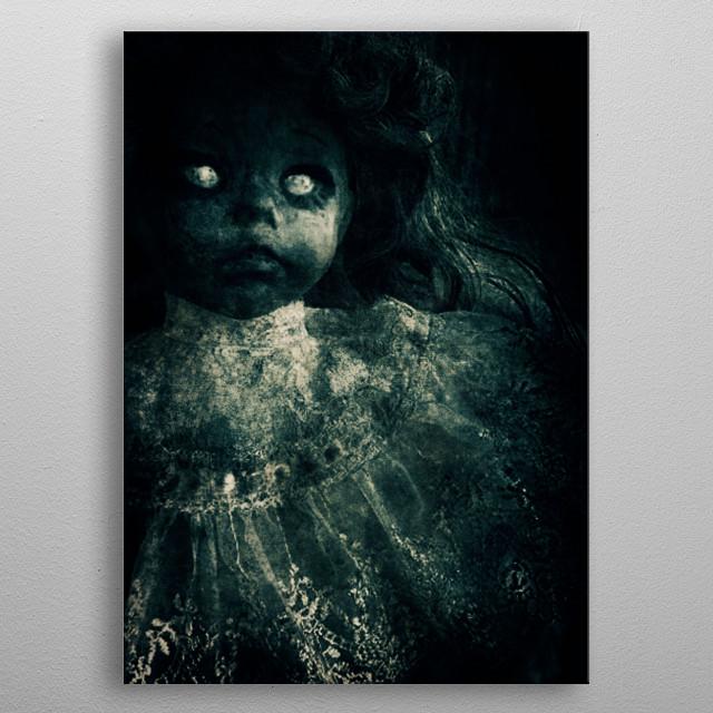 Horror Doll metal poster