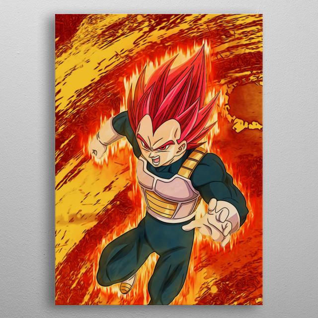 Dragon Ball Super Fan Art by Freak Creator. Multiplate Part 3 of 3. metal poster