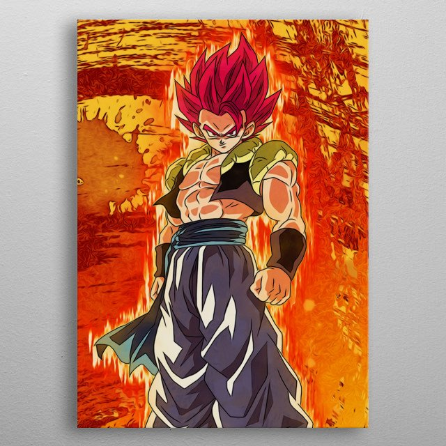 Dragon Ball Super Fan Art by Freak Creator. Multiplate Part 2 of 3. metal poster