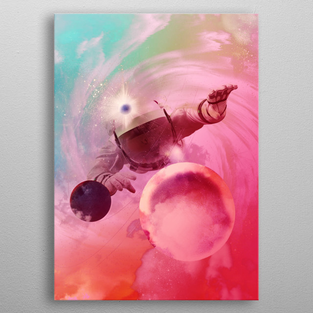 This marvelous metal poster designed by vartanyanares to add authenticity to your place. Display your passion to the whole world. metal poster