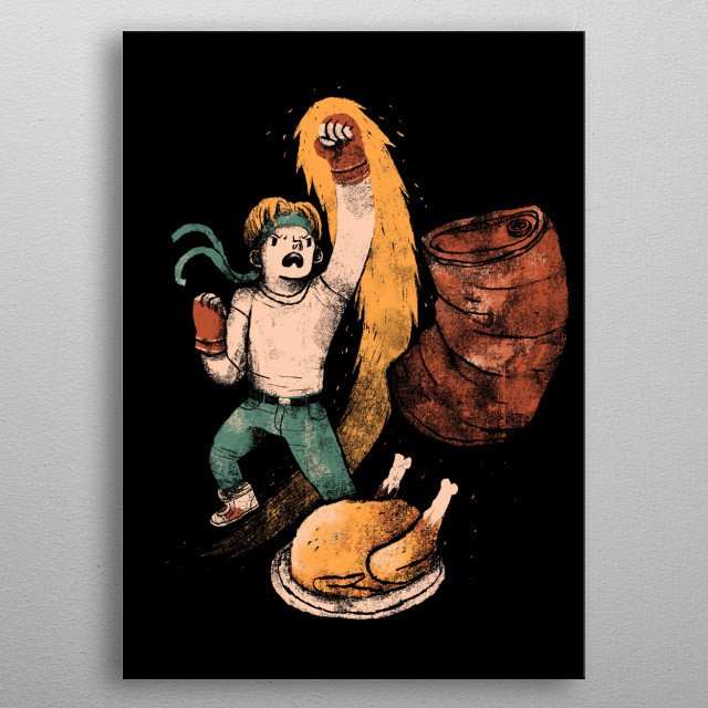 streets of rage / bare knuckle / turkey tribute   metal poster