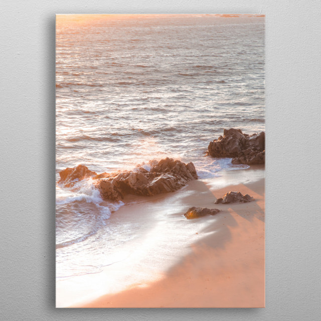 Vila Do Conde Portugal  | Image by Chantelle Flores  metal poster