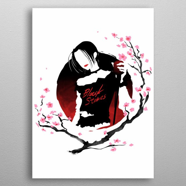Design inspired by Nana metal poster