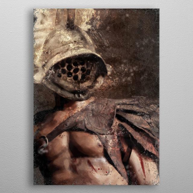 Painting metal poster