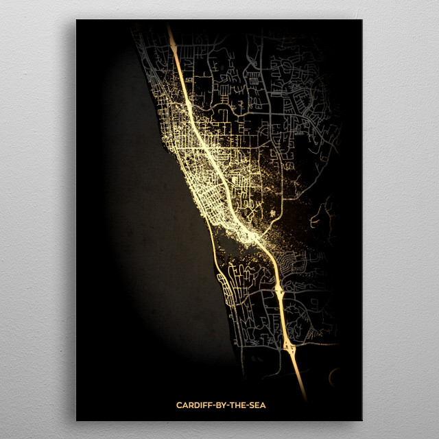 Cardiff-by-the-Sea, USA metal poster