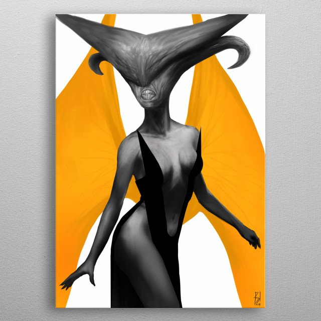 Queen of the damned, My free time digital painting. metal poster