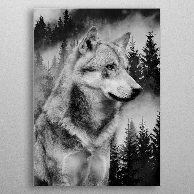 High-quality metal wall art meticulously designed by Mateo would bring extraordinary style to your room. Hang it & enjoy. metal poster