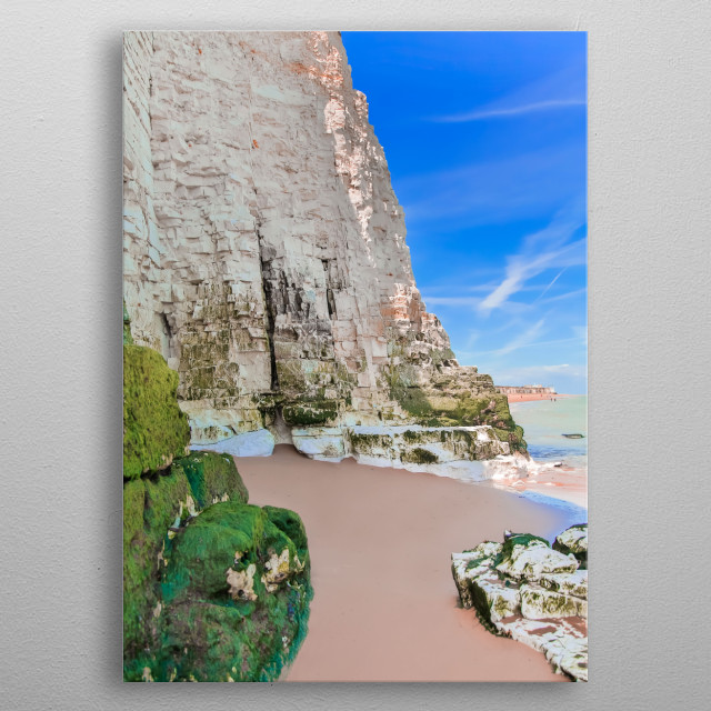 Botany Bay England, United Kingdom | Image by Chantelle Flores |  metal poster
