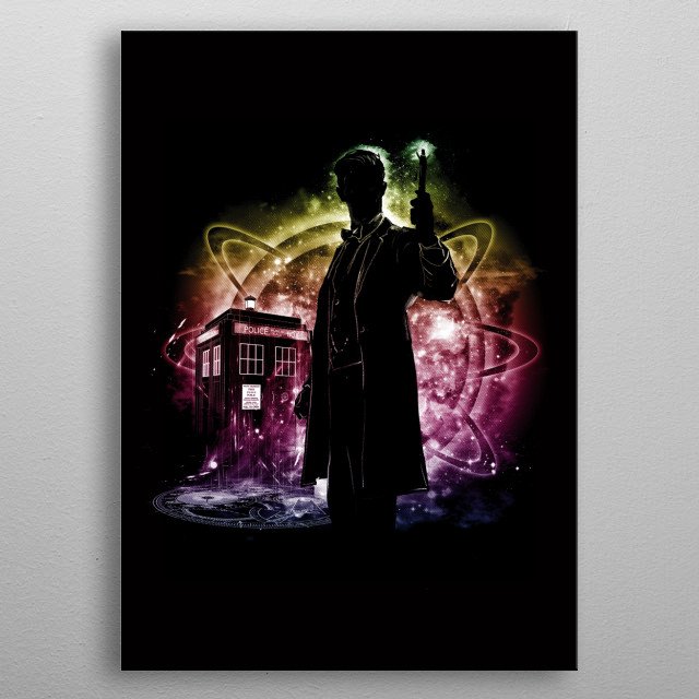 searching desesperatly for Gallifrey metal poster