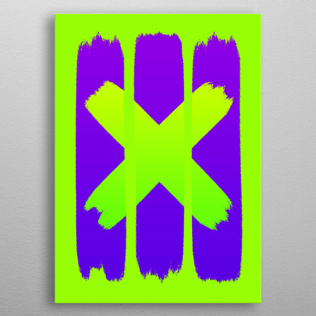 This is a punk spray graffiti style design for street art lovers out there. metal poster