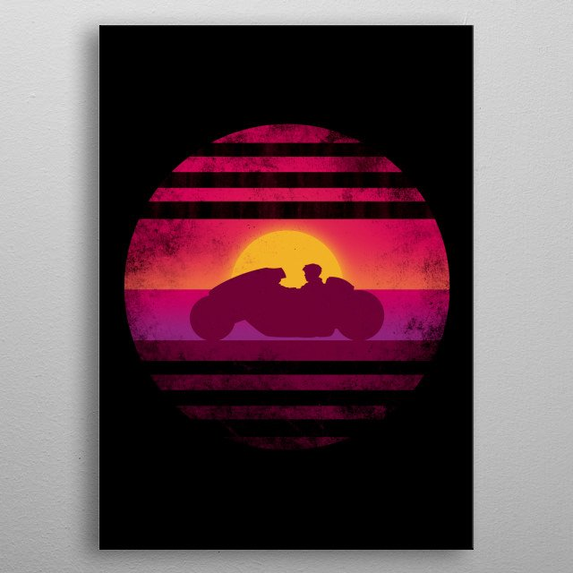 """Inspired by the """"Journey"""" design metal poster"""