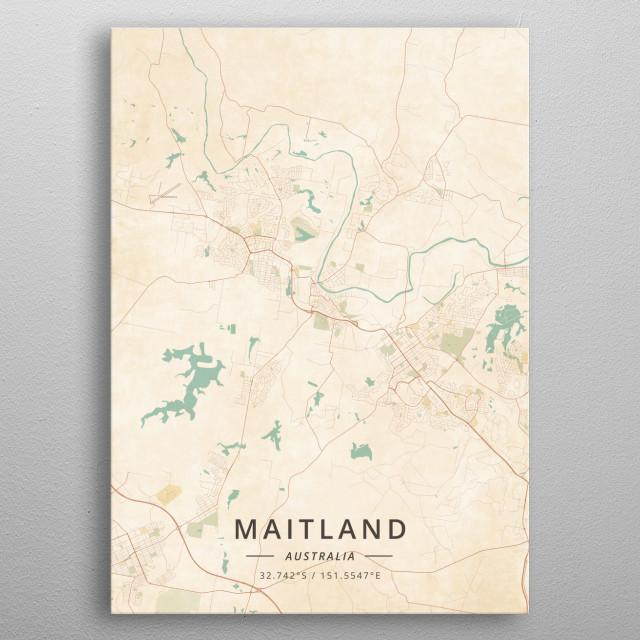 Maitland, Australia metal poster