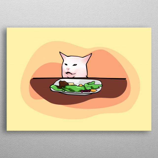 Confused Cat Meme Cartoon - Best Cat Wallpaper