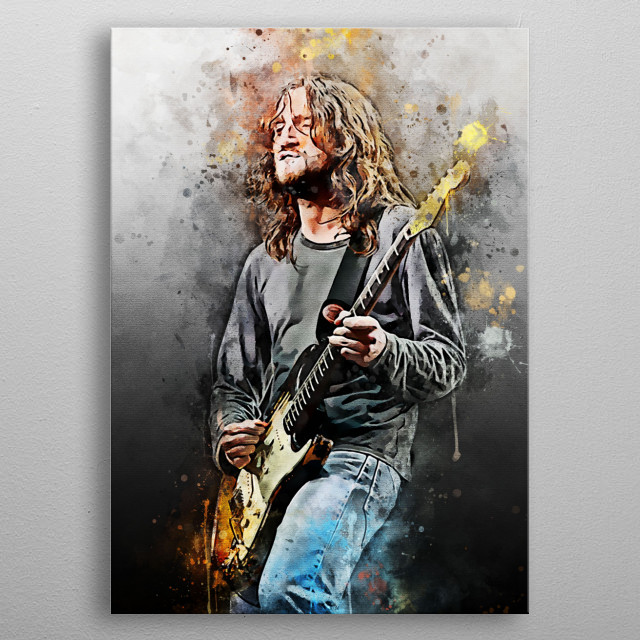 John Anthony Frusciante is an American guitarist, singer, songwriter, song and film producer.  He is best known as a former guitarist for  metal poster
