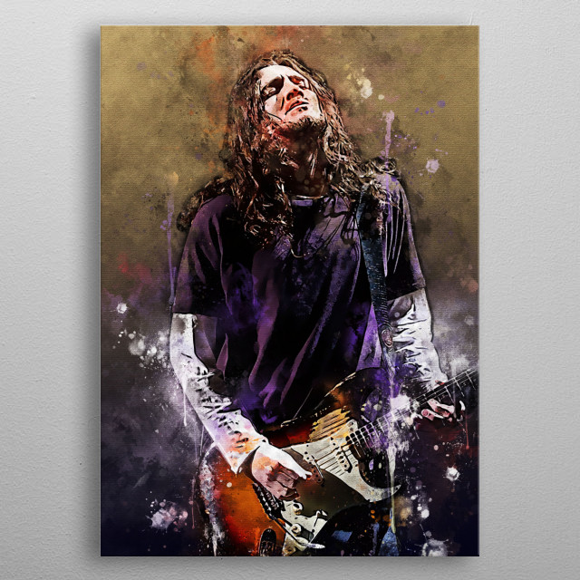 John Anthony Frusciante is an American guitarist, singer, songwriter, song and film producer.  He is best known as a former guitarist  metal poster