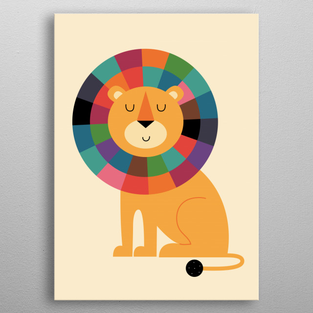 It matters not what you are thought to be, but what you are : ) metal poster
