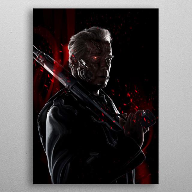 Genisys metal poster