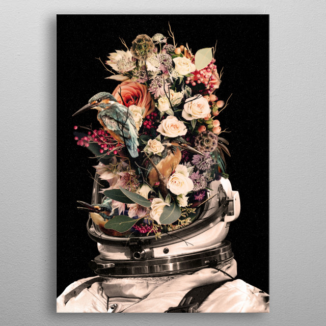 All we are is nature. metal poster