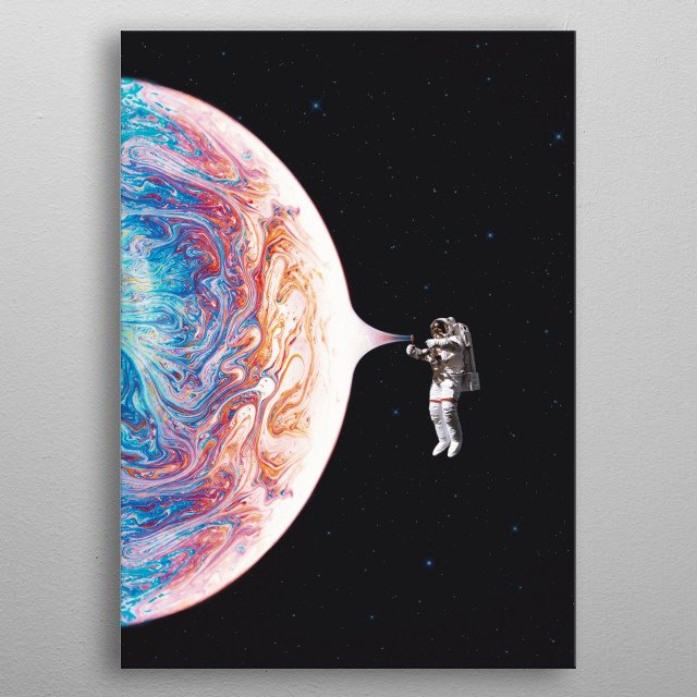 This marvelous metal poster designed by buko to add authenticity to your place. Display your passion to the whole world. metal poster