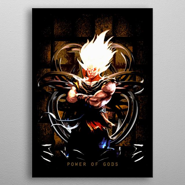 New Dragon Ball anime fan art by Freak Creator. More art in  metal poster