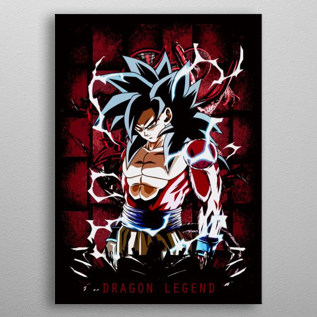 Dragon Ball GT anime fan art by Freak Creator. More art in  metal poster