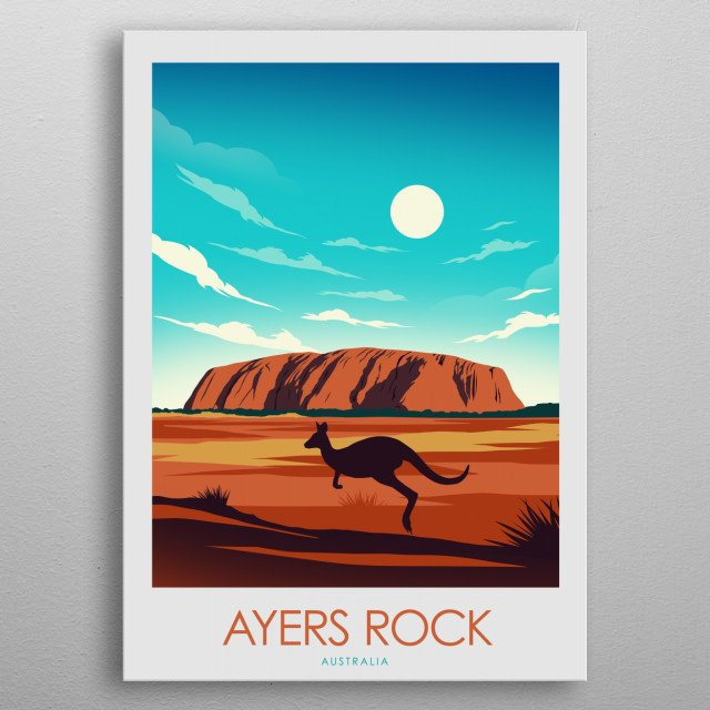 Bring your holiday home! metal poster