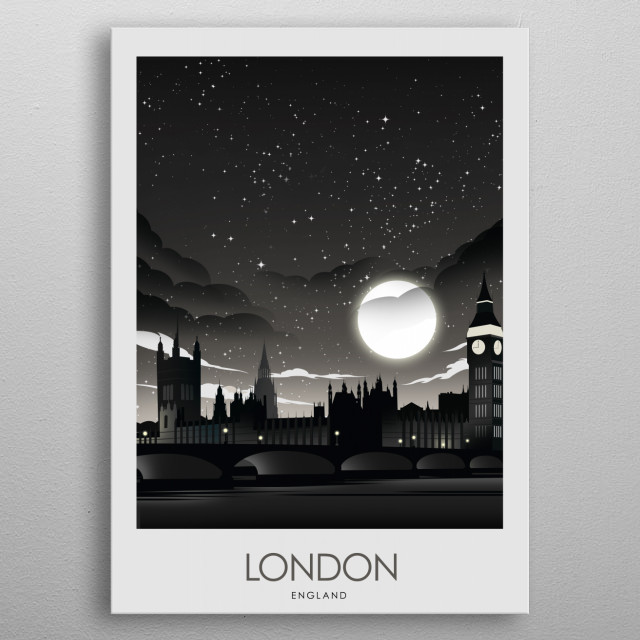 Bring your travels home! metal poster