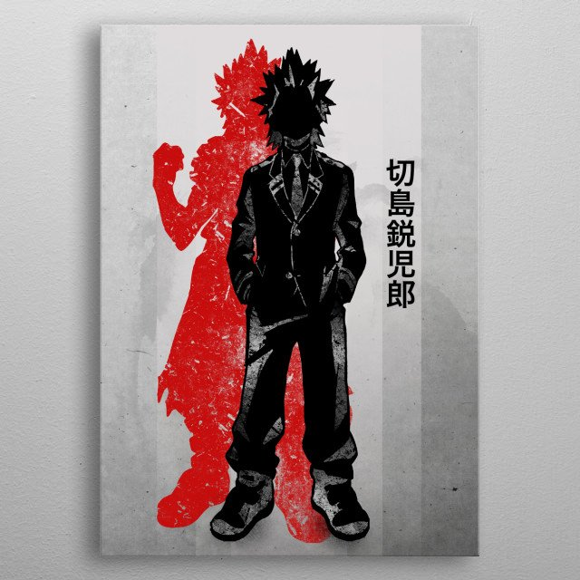 High-quality metal print from amazing Crimson Characters collection will bring unique style to your space and will show off your personality. metal poster