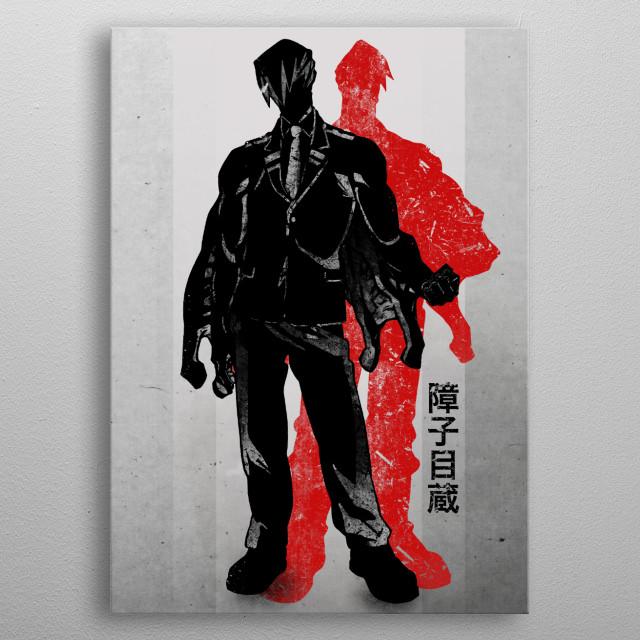 Crimson Mezo Shoji Anime Manga Poster Print Metal