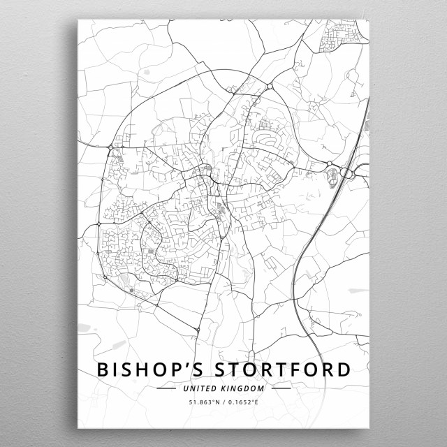 Bishop's Stortford, UK metal poster