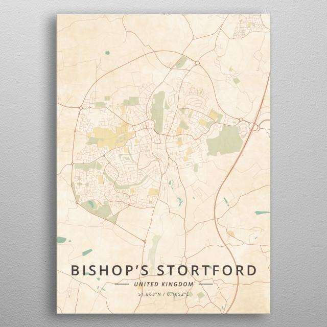Bishop's Stortford, UK metal poster