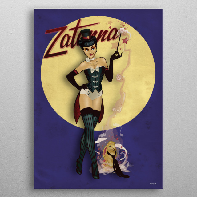 High-quality metal print from amazing Bombshells collection will bring unique style to your space and will show off your personality. metal poster