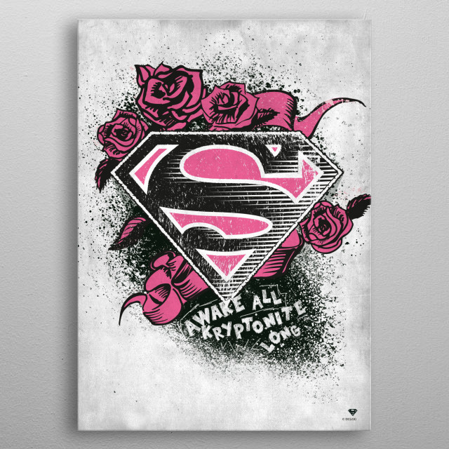 This marvelous metal poster designed by DC Comics to add authenticity to your place. Display your passion to the whole world. metal poster