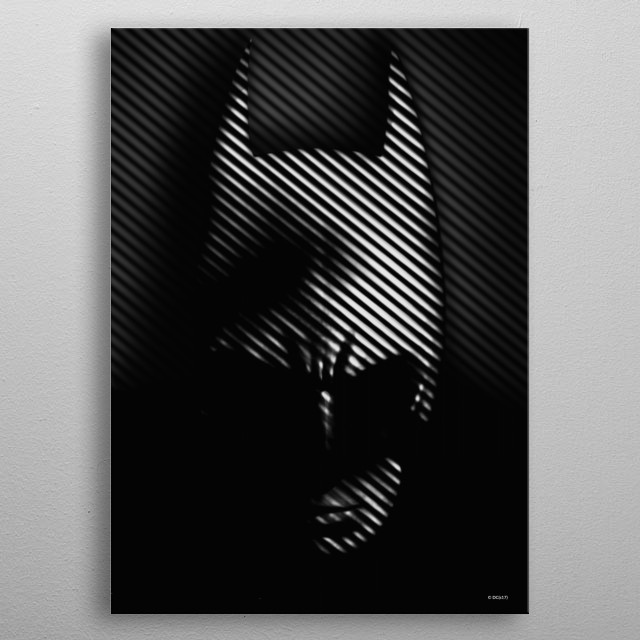 High-quality metal print from amazing Batman Noir collection will bring unique style to your space and will show off your personality. metal poster