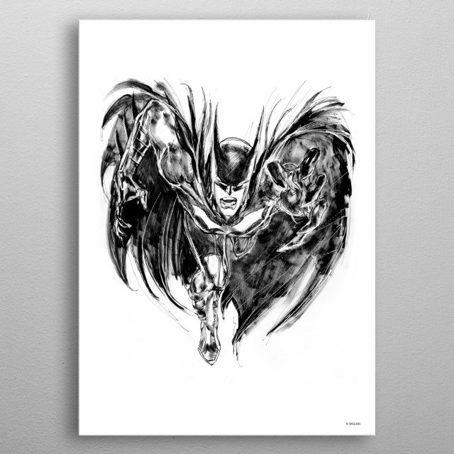 High-quality metal print from amazing Villainfest collection will bring unique style to your space and will show off your personality. metal poster