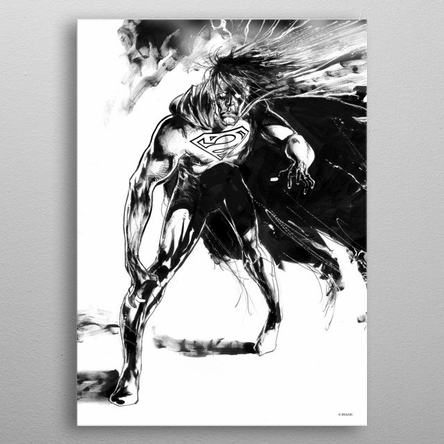 This marvelous metal poster designed by DC_Comics to add authenticity to your place. Display your passion to the whole world. metal poster