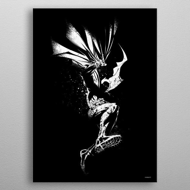 High-quality metal print from amazing Dc Dark Edition collection will bring unique style to your space and will show off your personality. metal poster