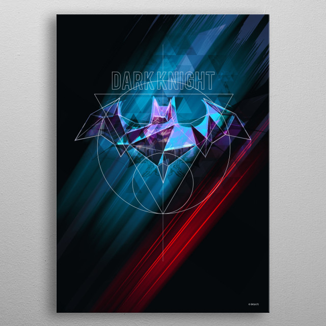 High-quality metal print from amazing Gotham Protectors collection will bring unique style to your space and will show off your personality. metal poster