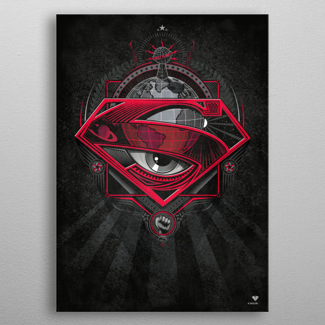 High-quality metal print from amazing Symbols Of Hope collection will bring unique style to your space and will show off your personality. metal poster