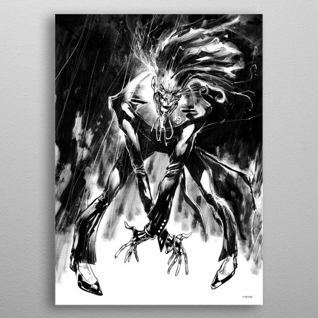 Fascinating  metal poster designed with love by DC_Comics. Decorate your space with this design & find daily inspiration in it. metal poster
