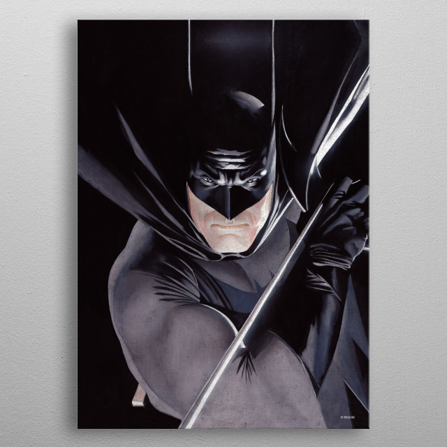 High-quality metal print from amazing Dc Heroes Ross Edition collection will bring unique style to your space and will show off your personality. metal poster