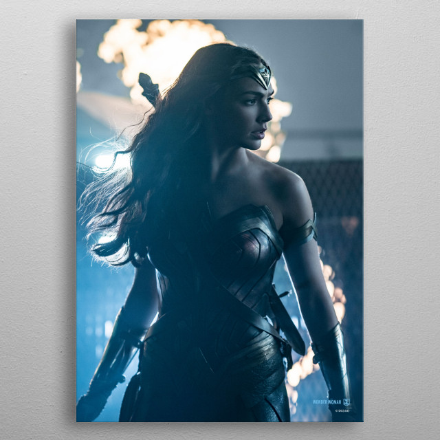 High-quality metal print from amazing Justice League Movie collection will bring unique style to your space and will show off your personality. metal poster
