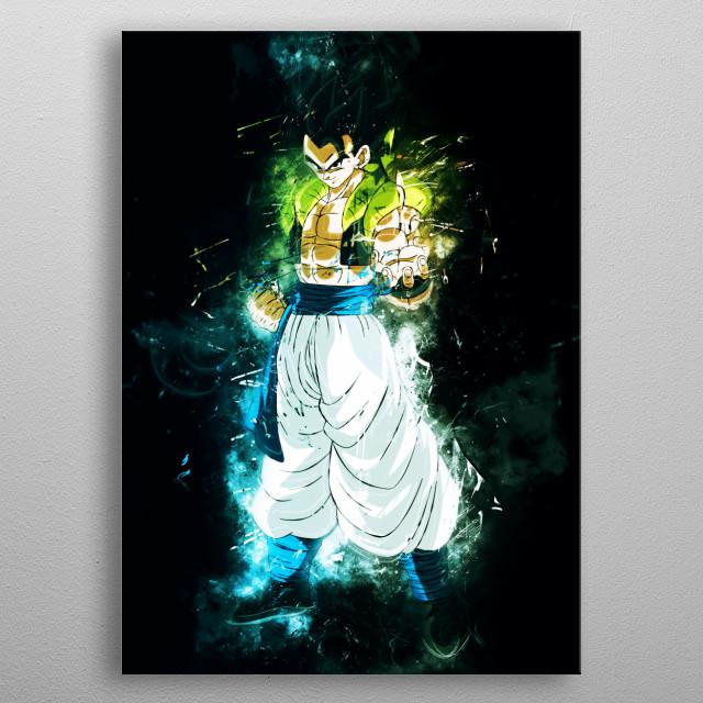 Gogeta Dragon Ball Gogeta Xeno SS4 Gogeta Ssj4 SSJ Goku Super Saiyan 5 metal poster