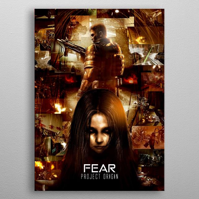 Fear 2 project origin ultimate poster metal poster