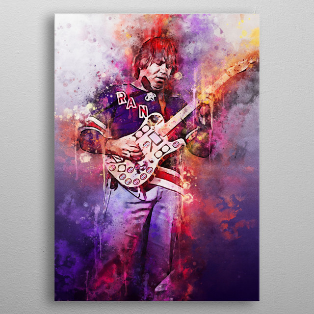 Terry Alan Kath is an American musician and songwriter, best known as a founding member of the Chicago rock band.  He played guitar and sang metal poster