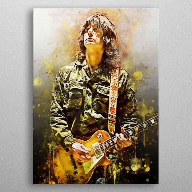 Jonathan Thomas Squire (born November 24, 1962) is an English musician, songwriter and artist.  He was the guitarist for the Stone Roses. metal poster