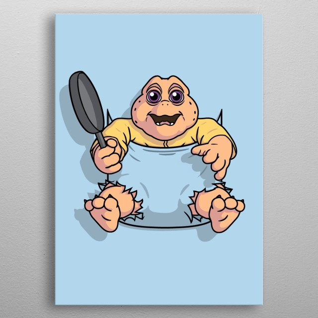 Not funny? Not mine! metal poster