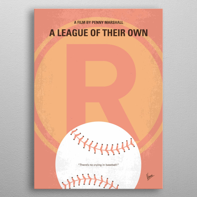 Two sisters join the first female professional baseball league and struggle to help it succeed amidst their own growing rivalry. metal poster